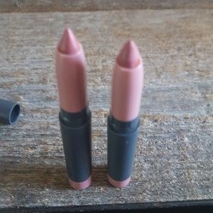 2 Bite Beauty Creme Lip Crayons in Glace